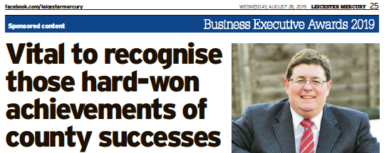 Leicestershire Live Business Executive Awards